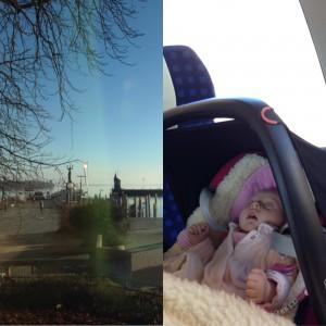 Bahnfahrt mit Kind