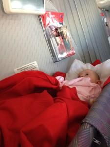 Baby im Basinet
