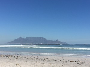 Table Mountain vom Bloubergstrand