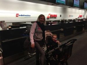 Check in mit Edelweiss Air