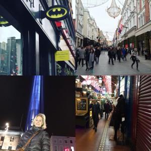Batman und Starwars stehen hier im Einklang. Ob Temple Bar oder Henry Street überall gibt es was zu entdecken