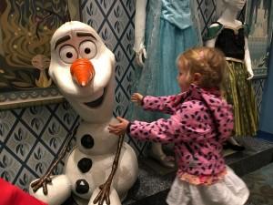 Olaf der lustiges Schneemann